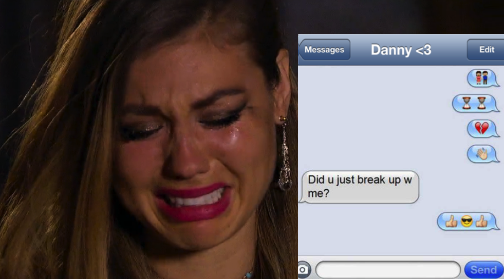 Post Breakup Cry Face Beauty Rescue  >> 15 Of The Worst Break Up Texts Ever Thetalko