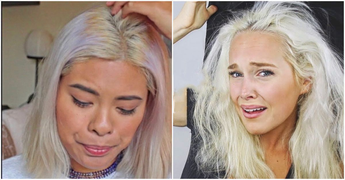 how to grow bleached hair