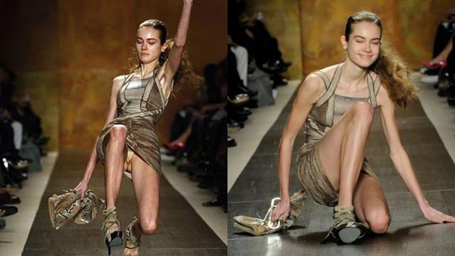 10 Biggest FAILS On The Fashion Runway